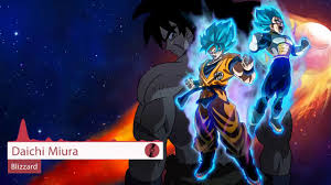 <b>Dragon Ball Super</b> : Broly Theme Song : Blizzard - Daichi Miura ...