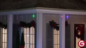 Gemmy Icicle Lights Gemmy Lightshow Icicle Lights With Remote Multi Color