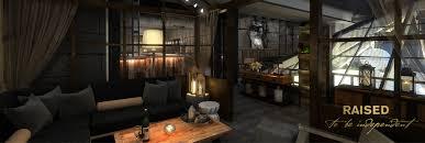 Living Room Bar Chicago Raised Bar Menu
