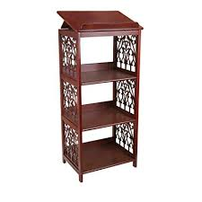 Wooden Book Stand For Display Awesome Amazon Design Toscano St Thomas Aquinas Gothic Decor Wooden