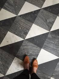 black and white tile floor. French Moderne Manor - Finish Work Alice Lane Black And White Tile Floor