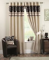 Modern Bedroom Curtain Red Contemporary Curtains