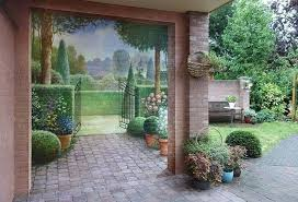 brick painting ideasAmazing Painting Ideas for Brick Walls Creating Optical Illusions