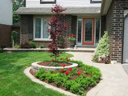 Easy Landscaping Ideas For Your Garden Home Decorating And Inspirations  Landscape Gallery Cheap ...