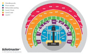 Harry Styles Love On Tour Seating Plan Hydro