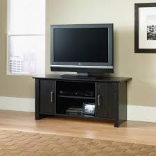 Lcd Tv Furniture For Living Room Floating Tv Shelf Stunning Flat Tv On The Gray Wall Ideas Living