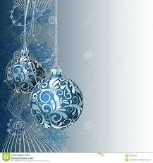 Christmas Card Picture Blue Christmas Card Stock Photos Image 27477653