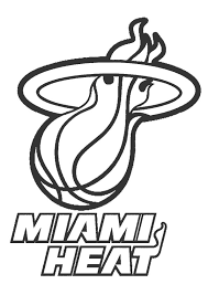 Small Picture Nba coloring pages miami heat ColoringStar