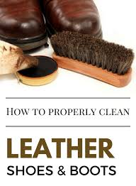 how to get rid of water stains on leather shoes photo 1