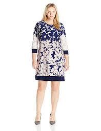 Msk Dresses Size Chart Msk Womens Plus Size Floral Shift