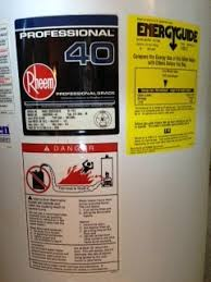 Water Heater Age How Old Is My Water Heater Just Water