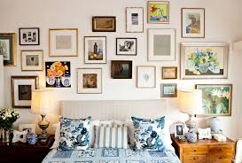 rustic picture frames collages. Fine Rustic Rustic Frame Collage Bedroom Traditional With Night Stands Art To Picture Frames Collages