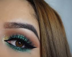 rock jewel toned smokey eye makeup this autumn