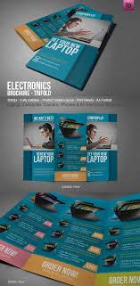 Electronic Brochure Template Laptop Electronic Brochure Brochure Design Corporate