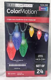 Christmas Light Show At Walmart Lightshow Christmas Lights Colormotion C9 Deluxe String 24