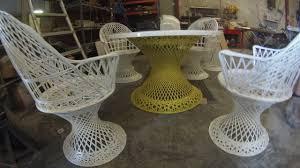 spun fibreglass furniture restoration  youtube