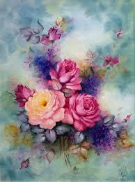 water color flower art