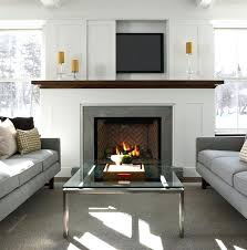 install tv above fireplace hide wires best over ideas mantle rating mantels can you