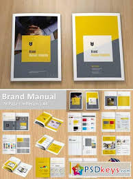 Brand Manual Template 335804 Free Download Photoshop