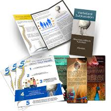 What Is A Pamphlet Sample Sample Pack Brochures And Handout Chiropractic Is