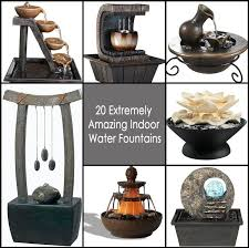 20 extremely amazing indoor water fountains