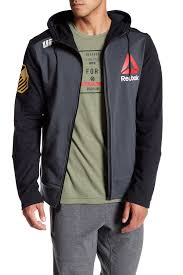 reebok ufc hoodie. image of reebok ufc walkout hoodie ufc