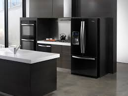 refrigerator black stainless steel. vernon black stainless steel appliances refrigerator