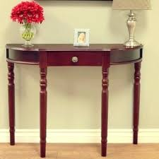 tuscan accent tables decoration in half round accent table half circle console amp sofa tables