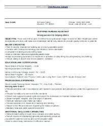 Nursing Assistant Resume Skills New Nursing Assistant Resume Resume Tutorial Pro