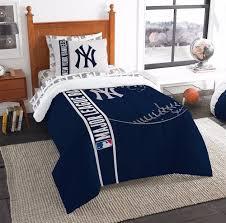 northwest 7pcs mlb new york yankees comforter sheet set