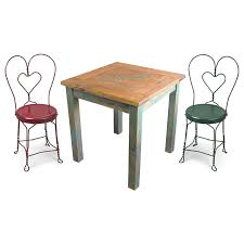 cool ice cream table and chairs 16 mexican cantina set with 4 parlor 1