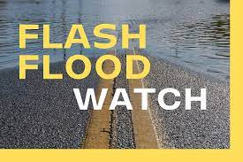 Flash Flood Watches In Effect For ...