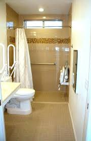 accessible shower bathroom wheelchair contemporary with remodel handicap designs pictures design ideas f