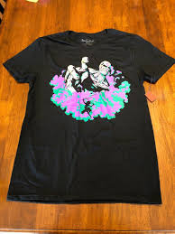 Loot Wear Size Chart Anime Attack On Titan Season 2 Medium Loot Crate Men Women Unisex Fashion Tshirt Free Shipping Black
