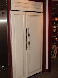 wood panel refrigerator.  Refrigerator Wood Refrigerator Panels  Re Poplar  Raised Panels  Intended Wood Panel Refrigerator