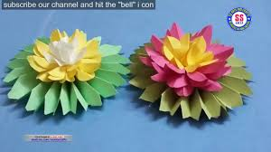 how to make origami lotus water lily with paper paper crafts wall decor ideas on water wall art youtube with how to make origami lotus water lily with paper paper crafts