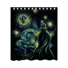 star wars shower curtain 12 pk hooks kohls