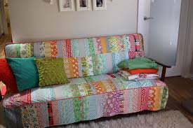 fun couch cover man that s a lot of work to sew but would look so cool in a kids room or nursery d