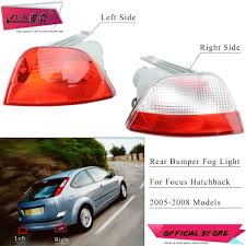2005 Ford Focus Brake Light Us 9 99 20 Off Zuk Auto Rear Bumper Fog Light Lamp Reflector Tail Light Lamp For Ford Focus 2005 2006 2007 2008 Hatchback 5 Door Without Bulbs In