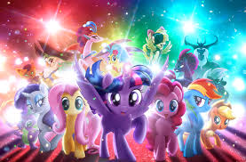 my little pony the 4k original resolution 3750x2467 por