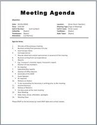 Meeting Agendas Templates | Meeting Agenda Template Download Page ...