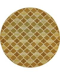 round indoor outdoor rugs fall gold 8 x rug