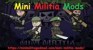 mini militia mods apk updated 2018