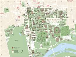 princeton nj maps  attractions parking  hotels