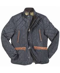 Quilted Jackets Guide - How to Buy, History & Details ... & Quilted jacket with brown leather trims Adamdwight.com