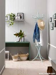 hallway colours 2017. weathered tones and greys blend to create dusty timeless colours that are easy live with this tongue groove wall is in resene quarter stack hallway 2017 n