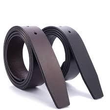 men boys no buckle smooth buckle belt plain leather waistband trouser belt leather strap belts money belt from alley66 28 16 dhgate com