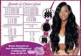 do beauty salon spa menu flyer posters