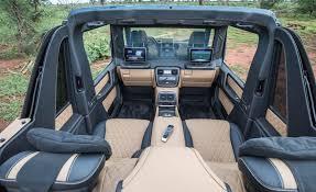 2018 maybach benz. Exellent Maybach 2018 Mercedes Benz G650 Maybach Landaulet 10  Inside Maybach Benz