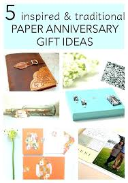 paper anniversary gifts for him traditional first gift 5 ideas her wedding anniversar paper anniversary gift